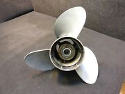 390821 Johnson Evinrude Prop 14 1/2 X 19p Counter Sst Ii Outboard Propeller