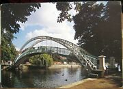 England River Ouse And Suspension Bridge From Mill Meadows - Unposted