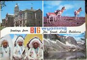 United States Greetings From Big Wyoming Great Land Outdoors - Posted