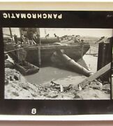 Bridge Construction Barge Laying Steel Pipe Heavy Equipment Super Xx Photo Proof