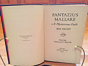 Fantazius Mallare A Mysterious Oath By Ben Hecht With Drawings By Wallace Smith