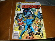 Micronauts 1 Signed By Michael Golden 1st App Baron Karza Comic Book