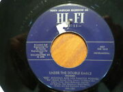 Promo Hi-fi 45 Record /red Nichols/under The Double Eagle/silver Threads/ Vg+