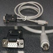 Serial Data Cable For Larson Davis System 824 Sound Meter 8-pin Mini Din To Db9