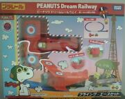 Peanuts Snoopy Flying Ace Dream Railway Train Set New In The Box
