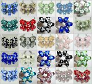 Onemurano Glass Bead With Glitz Sterling Silveritand039s A Bling Thing30 Colors