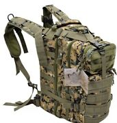 Assault Marines Woodland Marpat Hunting Camo Backpack Tactical Pack Molle New