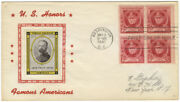 John Philip Sousa / First Day Of Issue Envelope With Portrait Stamp Of Sousa