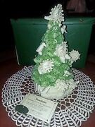 Dept 56 Christmas Flakes Falling From The Tree' Snowbabies And Penguins 69447 W/b