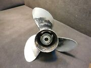391290 Stainless Prop 15 X 17p Sst Ii V6 Evinrude Johnson Outboard Propeller