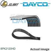 V-ribbed Belts For Scania P,g,r,t - Series,dc 11.09,dt 12.06 Dayco 8pk2120hd