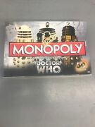 Monopoly Doctor Dr Who Board Game 50th Anniversary Collector's Edition Sealed