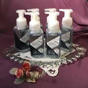 Rare Set Of 6 Bath And Body Works And039 Silver Gin Fizz And039 Foaming Hand Soaps