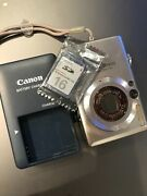 Canon Powershot Sd 600 Digital Camera With Charger