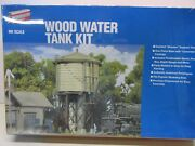 Walthers-933-3531-wood Water Tank-building Kit - Lot B Ho Scale