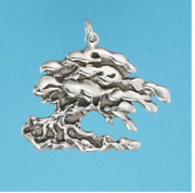 Monterey Cypress Tree Pendant .925 Sterling Silver Or 22 K Gold Vermeil Us Made