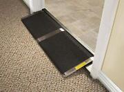 Threshold Ramp Wheelchair Doorway Access Home Door Scooter Portable Anti Slip