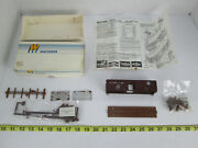 Walthers 40' Ss Wood Box W Braced Ends Bando Baltimore Ohio Train Freight Car Kit