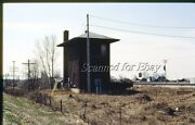 Icg Tw Otto Tw Depot Station Tower April 1984 35mm Slide