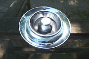 Oe 1957 Chrysler Imperial Spinner Hubcap, Better Than Most You'll See