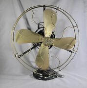 Antique General Electric Collectible Fan 20 Height 1349