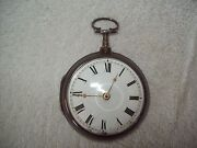 Antique 1804 R. Stedman 1050 Silver Fusee Chain/verge Watch - England