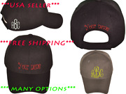Set Of 6+ Custom Personalized Embroidered Baseball Hats Family Reunion Wedding