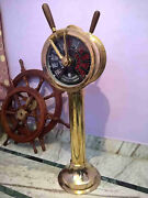 Shipand039s Telegraph Brass Engine Order Antique Maritime Collectible Decorative