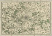 Antique Map Of The City Of Paris By Andriveau 1836