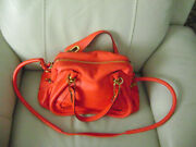 Auth Paraty Medium Handbag In Exquisite Poppy Red Color Sold Out