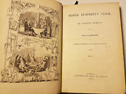 1840 - 41 Old Curiosity Shop And Barnaby Rudge Dickens 1st Ed Classic 3 Vols In 2