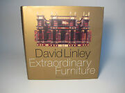 1996 David Linley 'extraordinary Furniture' Signed Wood Interior Design Style