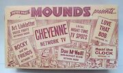 1959 Peter Paul Mounds Candy Presents Cheyenne Rocky And Friends Tv Show Empty Box