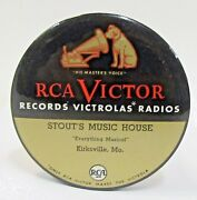 Rca Victor Stoutand039s Music Kirksville Mo. Advertising Celluloid Cleaner Brush