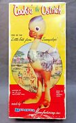 1950and039s Empty Box Rempel Cookie The Ostrich Rubber Squeak Squeeze Toy Box Only