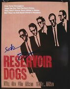 Quentin Tarantino And Steve Buscemi Signed Reservoir Dogs 8x10 Photo