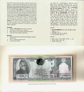 Nepal 1997 - 250 Rupees - Pick 42 Unc Commemorative With Booklet Bank Pinholes