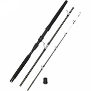 Fishing Rod Carbon Fiber Popping Rods Full Parts Cross Mh Power Saltwater Boat