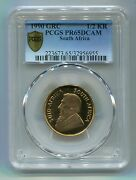 Pcgs Secure South Africa 1990 1/2 Krugerrand Pf 65 Gold Coin Grc Mintmark Rare