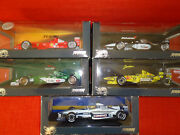 Hotwheels Lot Of 5 Die Cast Models F1 Racing 2000 118 Boxed Mint Cond