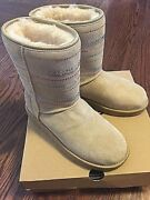 Authentic New Ugg Boots Retail 495 W Classic Short Bling Size 7 Model 1011264