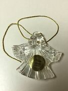 Princess House Lead Crystal Ornament 837 Angel-new-lot Of 6 Ornaments