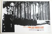 Last House On The Left Mondo Poster By Jock Limited Edition Screenprint