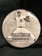 Jack Morris Button - 2018 Baseball Hall Of Fame Induction, Cooperstown - Photo