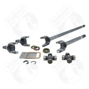 Yukon Gear Front 4340 Chrome-moly Replacement Axle Kit For 74-79 Wagoneer Drum