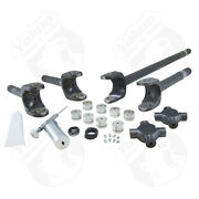 Yukon Gear Front 4340 Chrome-moly Replacement Axle Kit For 79-93 Dodge / Dana 60