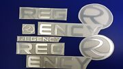 Regency Boats Emblems 30 Decal + Free Fast Delivery Dhl Express
