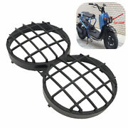 Black Moped Scooter Headlight Cover Grille Guard For Yamaha Bws100 Honda Zoomer