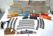 Bachmann Gaines Gravy Train Tender Track Cars Caboose Transformer Ho For Parts