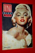 Marilyn Monroe On Cover 1960 Letand039s Make Love Poster Unique Exyu Movie Magazine